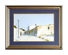 Strada di Puglia - Aldo Riso - Original Painting - Modern