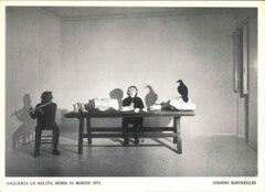Kounellis' Performance - 1970s - Jannis Kounellis - Photo - Contemporary