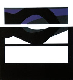 Purple Vision - Original Lithograph by Carmen Morales - 1966