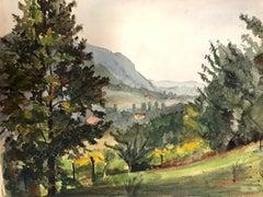 Natural Green Landscape - Jacqueline Barbet - Mixed Media