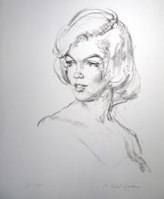 Just Marilyn - 20th Century - Alejo Vidal Quadras - Portrait - Contemporary