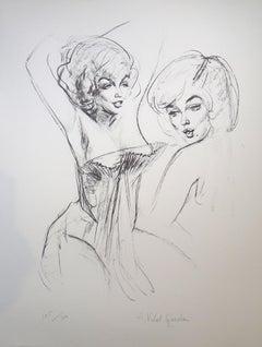 Double Marilyn - 20th Century - Alejo Vidal Quadras - Portrait - Contemporary