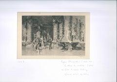 Le Choix du Modèle - Original Etching by Eugène Champollion d'après M. Fortuny