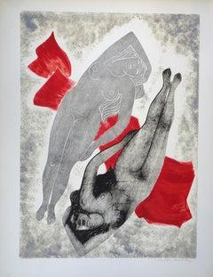 L'Extase - 1970s - Emile Deschler - Painting - Contemporary