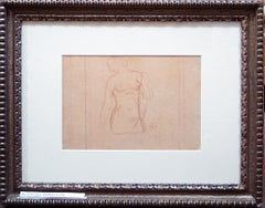 Bust of Woman - Original Pencil Drawing by Aristide Maillol - 1920 ca.