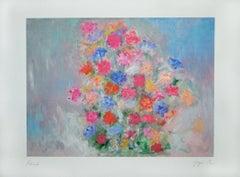 Bouquet - Martine Goeyens - Digigraph - 2000s