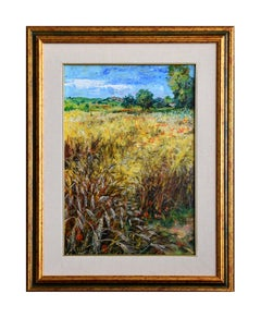 Cornfields - Original Oil on Canvas by Luciano Sacco