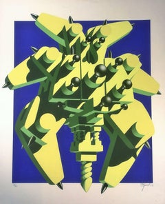 Totem Machine - Original Silkscreen by Ramon Alejandro