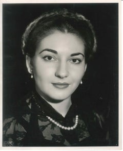 The Young Callas - Vintage Original Photograph of Maria Callas - End of 1950-51