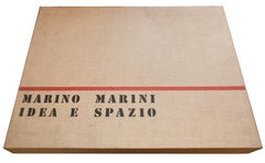 Idea e Spazio - Original Suite of Etchings by Marino Marini - 1963