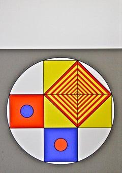 Composition VII - Original Screen Print by Franco Cannilla - 1971