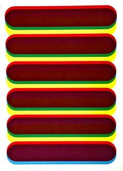 Composition VIII - Original Screen Print by Franco Cannilla - 1971