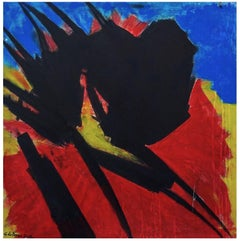 Untitled - Abstract Expression - Oil Painting 2004