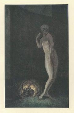 Salome Tanzt - Vintage Héliogravure by Franz von Bayros - 1921 ca.