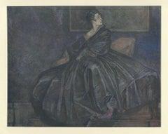 Tanzerin - Vintage Héliogravure by Franz von Bayros - 1921 ca.