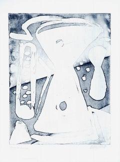 Time and Heat- 20th Century - Sante Monachesi - Lithograph - Contemporary
