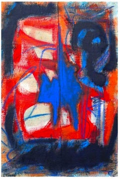 Untitled - Abstract Expression -  Oil Painting 2016