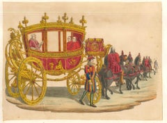 The Excellency of the Pope - Lithographs and Watercolors - Mid 19th Century