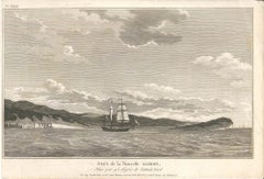 Pays de la Nouvelle Albion - Original Etching 1795