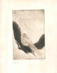 Mein Weg mit dem Weib #6 - Original Etching by W.R. Rehn