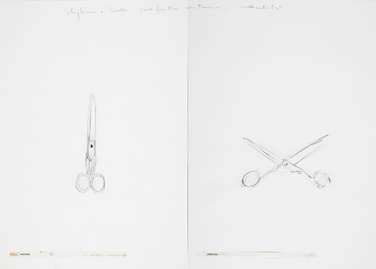 <i>Male Female</i>, 1973, by Alighiero Boetti, offered by Wallector