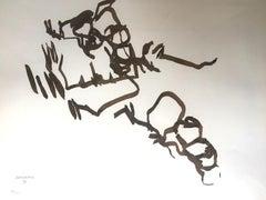 Concordancia - 1960 - Eduardo Chillida - Lithograph - Contemporary