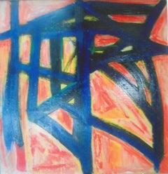 Homage to Franz Kline - Oil Painting 2010 by Giorgio Lo Fermo