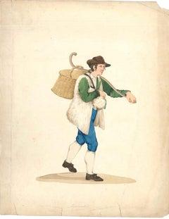 Gioncataro - Watercolor by M. De Vito - 1820 ca.