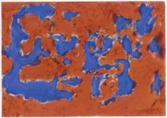 Homage to Alberto Burri - Oil Painting 2015 by Giorgio Lo Fermo