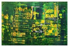 Spring Water Joins Heaven - 2007 - Li Lei - Oil on Canvas