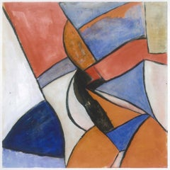 Geometric Cubism  - Oil Painting 2011 by Giorgio Lo Fermo