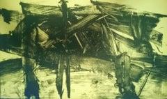 Untitled - Original Lithograph by Mattia Moreni - 1960