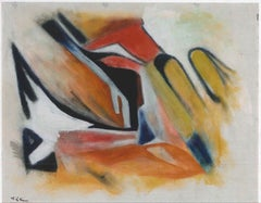 Abstract Expression - Oil Painting 2012 by Giorgio Lo Fermo