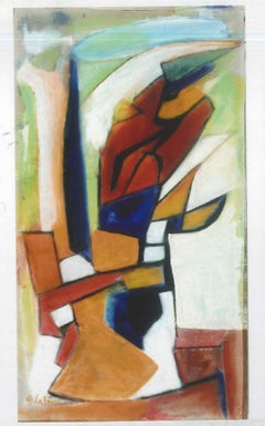 Abstract Post-Cubism - Oil Painting 2012 by Giorgio Lo Fermo