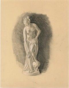 Venus - Original Pencil Drawing Early 20th Century