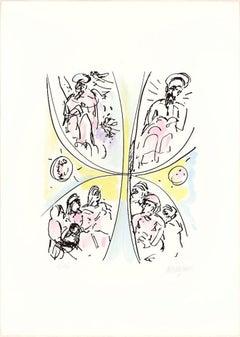 Jubilee - 20th Century - Sante Monachesi - Lithograph - 1970 ca.