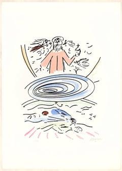 Paradise - 20th Century - Sante Monachesi - Lithograph - 1970 ca.