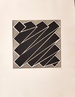 Beta - Original Etching by Nicola Carrino - 1968