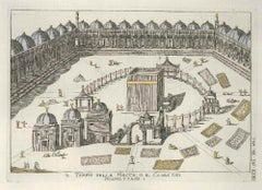 Mecca Temple or the Ka'ba of Muhammadans - by G. Pivati - 1746-1751