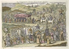 Funeral Procession - by G. Pivati - 1746-1751