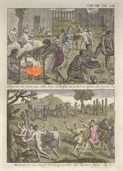 Ceremonies in the Hudson Bay - by G. Pivati - 1746-1751