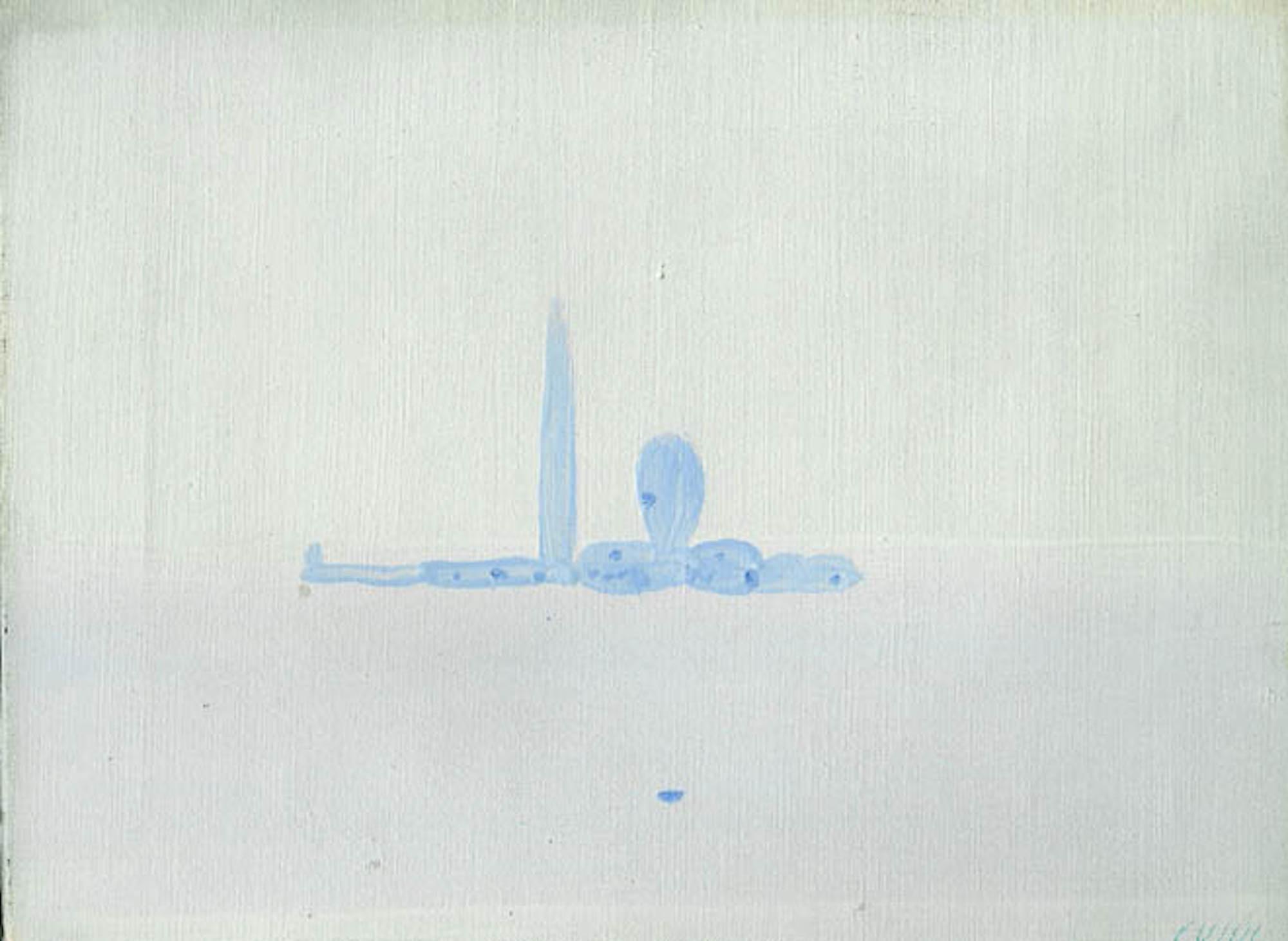 Venice, the Island - Oil on Canvas by Virgilio Guidi - 1969