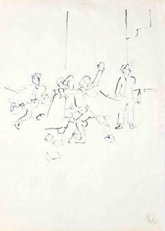 """La Bataille des Boules de Neige - From """"Les Enfants"""" Terribles"""" - 1935"""
