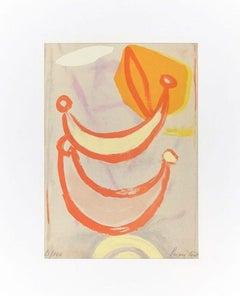 Untitled - Original Lithograph by Primo Conti - 1973
