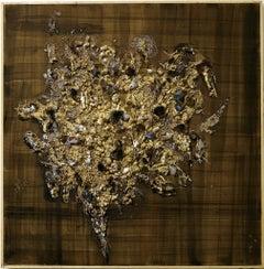 Natural Shape - Original Oil on Canvas by Claudio Palmieri - 1986