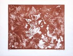 A Dream - Original Lithograph by E. Conciatori - 1970