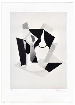 Sill Life - Original Lithograph by Ivo Pannaggi - 1975 ca.