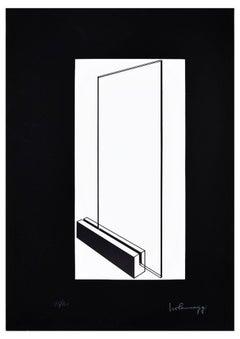 Glass - Original Lithograph by Ivo Pannaggi - 1975 ca.