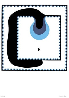 The Drop - Original Screen Print by Plinio Mesciulam - 1970s