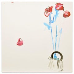 Roses - Original Oil on Canvas by Anastasia Kurakina - 2019